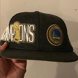 New era warriors championship cap